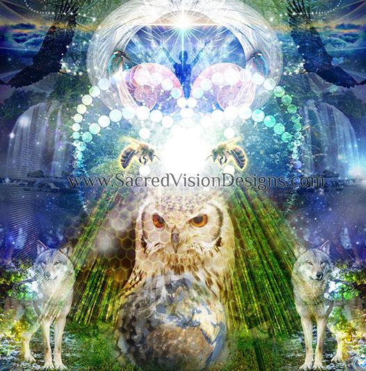 Animal Totem/Spirit Healings, Channeling & Journeying